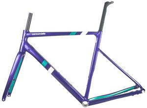 2020 Cannondale CAAD 13 Road Bike Frame set Carbon Fork Purple 700c 56cm Disc