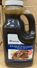 Minor's Bourbon Style Sauce With Nature Flavors Ready To Use Net Wt 4 Lb 15 Oz