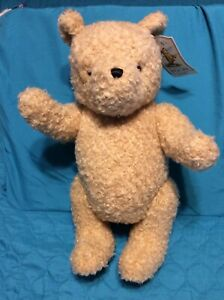 """NEW w/tags ~ GUND Winnie the Pooh """"Classic Pooh"""" 16"""" T (ears to feet) Jointed"""