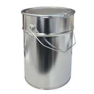 EIMER mit Spannringdeckel  12 Liter Metalleimer Blecheimer (23012)