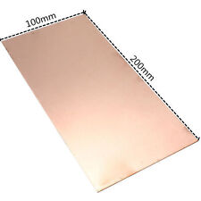 1pcs 0.5 x 200 x 100MM 99.9% Pure Copper Cu Metal Sheet Foil