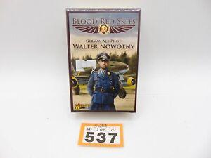 Warlord Games WW II Blood Red Skies German Ace Pilot Walter Nowotny 537-177