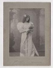 PHOTO - CABINET - J. BOYER PARIS - Mitzy Dalti ? Comédienne Actrice - Vers 1900