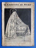 Moda - Il Corredo di Bebè - Insegnamento confezione - Ed. Sonzogno 1920 ca.