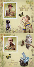 Congo 2016 MNH Lord Baden-Powell 2 x 1v S/S Scouting Scouts Stamps