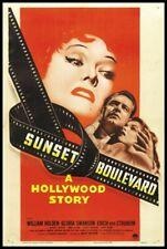 Sunset Boulevard Movie Poster Art Print Photo 8x10 11x17 16x20 22x28 24x36 27x40