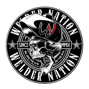 Welder Nation Decal Sticker