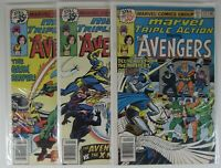 Marvel Triple Action #44 46 47 Three VF Bronze Age Comics Box