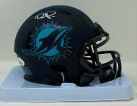 Devante Parker Autographed Miami Dolphins Eclipse Mini Helmet JSA Authenticated