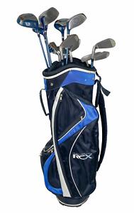 Wilson Pro Staff Multi Metal 12 Piece Golf Club Set Right Handed Ladies Flex