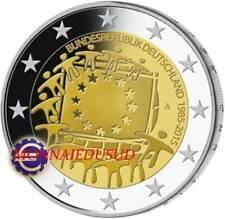 2 Euro Commémorative Allemagne 2015 - Drapeau Européen