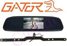 "Gator GRV43M CAR 4.3"" Mirror Reverse Camera Wired Clip on Reversing System *RFB*"