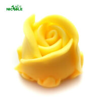 Rose Flower Silicone Soap Mould 3D Flexible Handmade Candle Resin Craft Tools