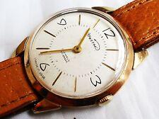Wostok 18 joyas vintage Made in USSR la mano de la bobina Gent Vestido Reloj Cal 2209