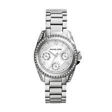 New Michael Kors MK5612 Mini Blair Silver Ladies Designer Watch - UK Seller