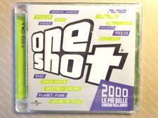 ONE SHOT 2000  -  LE PIU BELLE CANZONI DELL'ANNO -  2 CD 2009  NUOVO E SIGILLATO