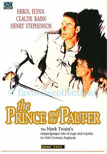 The Prince and the Pauper (1937) - Errol Flynn, Claude Rains (Region All)