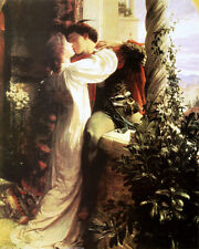 ROMEO and JULIET by Sir Francis Bernard Dicksee. Fine Art Reproduction Poster