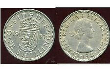 ROYAUME UNI  one shilling 1963 ( rev  SCOTTISH  )   ( bis )