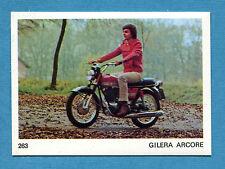 AUTO E MOTO - Figurina-Sticker n. 263 - GILERA ARCORE -New