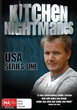 GORDON RAMSAY - KITCHEN NIGHTMARES USA: SERIES 1 (3 DVD SET) NEW!!! SEALED!!!