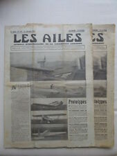AILES 1931 AMIOT 110 CAUDEBEC CAUDRON C-240 SALMSON MADAGASCAR GUERCHAIS BOURGET