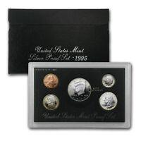 with Box and COA 1995 Prestige US Mint Proof Coin Set CIVIL WAR BATTLEFIELD