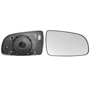 CHERVOLET  AVEO 2007->2010 WING MIRROR GLASS, HEATED WITH BASE PLATE, RIGHT SIDE