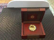 2013-W American Gold Buffalo 1 oz. 24 Proof w/ Box, Velvet Case, $ 50 coin .9999