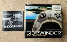 Microsoft Sidewinder Plug and Play Wired USB Game Pad Controller PC Computer A1