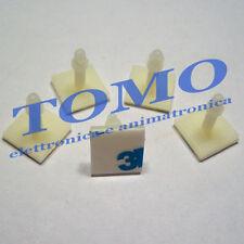 5 Distanziale con adesivo 3M plastico PCB circuiti stampati 12.7mm c.FIXFSS12.7
