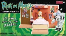 Rick and Morty YOU SHALL NOW CALL ME SNOWBALL Medium Construction Set 129 pcs
