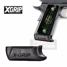 X-Grip XG1911c2 Adapter Use 1911 45ACP Act-Mag, Novak w/Floor Plate for Officer