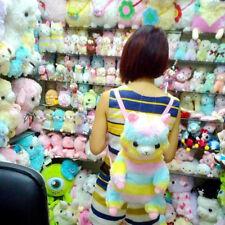Japan Amuse RAINBOW Alpacasso Alpaca Backpack Bag School Bag Plush Toy 45CM new
