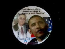 BARACK OBAMA CAMPAIGN PIN FROM 2008