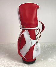 Sport Chef Mini Golf Bag w/ BBQ Grill Cooking Utensils Red & White