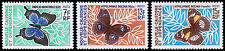 New Caledonia Scott 357, 359-360 (1967) Mint LH VF