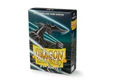 (60) Dragon Shield Matte JAPANESE/Mini Size Card Sleeves - Jet AT-11124