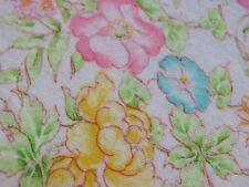 "America fabric ""Retro pink Flower"" Flannel  Fabric  44""x 36""By the yard No:136"