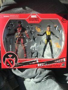 """Marvel Legends Deadpool & Negasonic Teenage Warhead 6"""" 2-Pack Action Figure Set"""