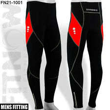 Mens Winter Cycling Tights Trouser Bicycle CoolMax Padded Cycle Legging M,L,XL