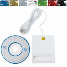 Lector de DNI electrónico CAC inteligente lector de tarjetas USB 2.0 top