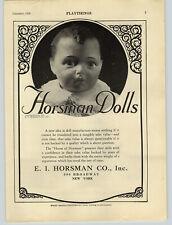 1926 PAPER AD Horsman Dolls Baby Face Schoenhut Piano Humpty Dumpty Circus
