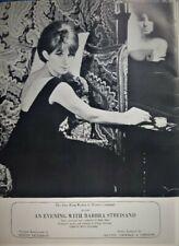 Barbra Streisand Souvenir Program - Newport 1968. Rare Find.