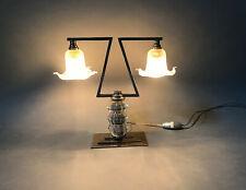 lampe moderniste art deco 1930 1940 lamp luminaire light adnet desny