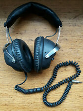 Classic Corded ALBA HEADPHONES. Model No.H.4. Mono/Stereo. Vintage Item. Retro