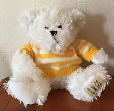 Giorgio Beverly Hills 11 in (environ 27.94 cm) Blanc 2008 collector Teddy Bear Soft/Plush Toy