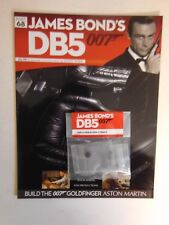 JAMES BOND 007 - ASTON MARTIN DB5 1:8 SCALE BUILD GOLDFINGER PART 68