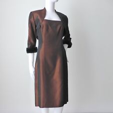 ANTHEA CRAWFORD Sleeveless Sheath Dress and Jacket   Size 10  US 6