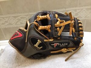 "Louisville Flare FL1125EI 11.25"" Youth Adult Baseball Glove Right Hand Throw"